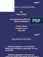 Personas Competentes - Harry Parker