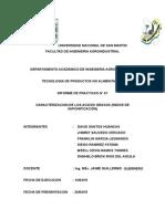 Caracterizacion de Los Acidos Grasos. Prac. 01