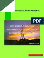 Guía de Manejo Ambiental Para Proyectos de Perforación de Pozos de Petróleo y Gas