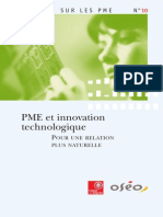 Regards PME 10 Innovation