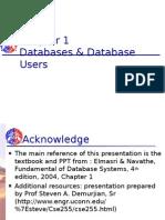 Database & Database Users