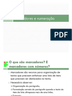 Informática Básica - Módulo de Aulas Word - Criação de Sumário