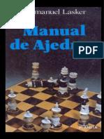 Manual de Ajedrez - Dr. Emanuel Lasker-libre