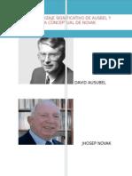 Aprendizaje Significativo de Ausbel y Mapa Conceptual de Novak