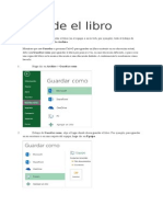 2015 Excel Manual