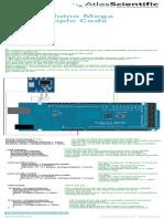 Arduino Mega Flow Sample Code