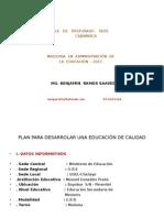 Diapo Plan de Mejora de Caliadad Educativa-2013