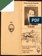 el primer plan estratégico 1983-1987