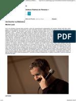 Um Escritor Na Biblioteca - CÂNDIDO - Jornal Da Biblioteca Pública Do Paraná