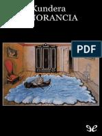 Milan Kundera, La Ignorancia.pdf