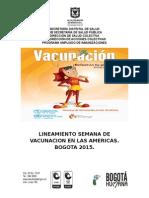 Lineamientos Jornada de Vacuna