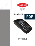 EFT930G/B  Portable Ingenico User Guide