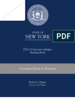 Gov Budget Briefing Book