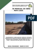 INFORME MENSUAL DE OBRA  (N° 01)