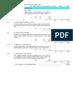 Presupuesto y Mediciones
