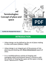 W2- Definition, Terminologies. Concept of Place and Space