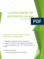 Caracterización de Yacimientos de Gas 1er Parcial