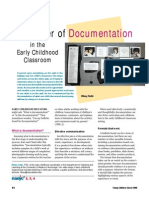 power of documentation