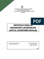 Protocolo de Ausentismo CEIP