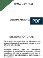 Sistema Natural AMBIENTAL