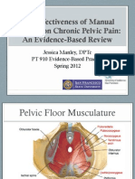Effectiveness of Manual Therapy on Chronic Pelvic Pain