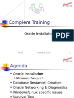 Installation Oracle