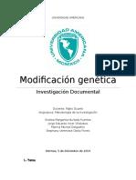 Modificación Genética Humana