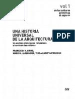 Una Historia Univ. de La Arq. Vol 1..Francisc... DK Ching