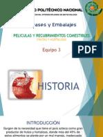 Peliculas y Recubrimientos Comestibles_Frutas y Hortalizas