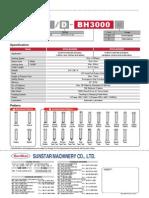 Prospecto SPS D BH3000