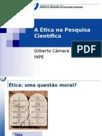 PPT sobre Ética e Pesquisa Científica