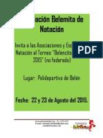 Invitacion al Torneo Belencito 2015