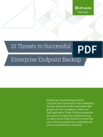 10 Threats to Successful Enterprise Endpoint Backup
