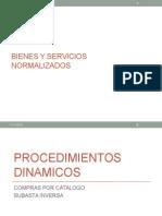 2. Bienes y Servicios Normalizados y No Normalizados (Final)