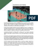 Reseña Histórica Del Voleibol