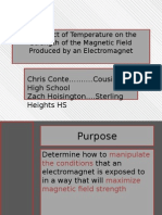 conte electromagnet presentation
