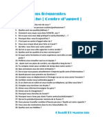 30 Questions Frequentes d Embauche