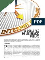 Informe sobre neutralidad de la red