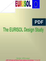 The EURISOL Design Study