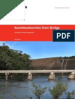 Humes Humedeck Koombooloomba Bridge