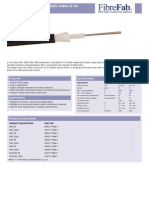 Single Loose Tube Fibre Optic Cable 2 24 Fibres