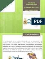 Arrendamiento Finanzas Corporativas 2doP