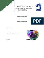 Mineralogia tipos de minerales