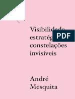 Visibilidade estratégica/ constelações invisíveis - André Mesquita