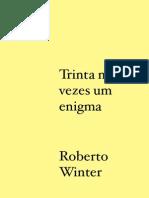 Trinta mil vezes um enigma - Roberto Winter