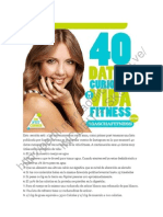 40 Datos Fitness
