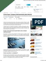 Como fazer compras internacionais pela internet.pdf