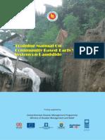 Training - Training manual on community based early warning system on landslide.pdf