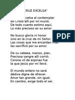 Letra Cantos Santa Cena