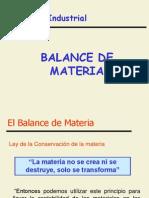 Balance de Materia Teoria
